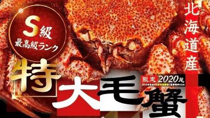 現地より直送 毛カニ・本タラバガニ・ズワイガニで極上な食卓を 限定2020尾 最高級の北海道産毛ガニ 12月9日より大特価キャンペーン